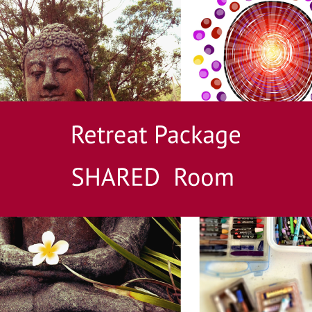 Retreat Package - SHARED room