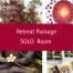 Retreat Package - SOLO room