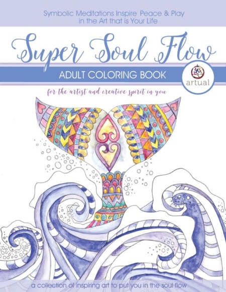 Super Soul Flow Colouring Book